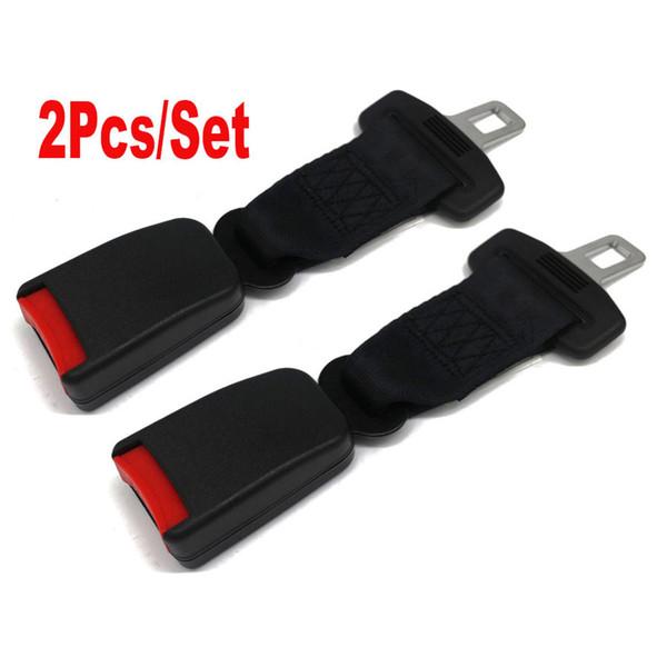 Seggiolino Auto 2PC 9 '' Cintura di sicurezza regolabile cintura di sicurezza Extender estensione 7/8