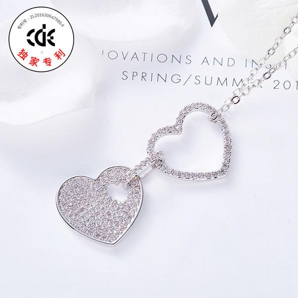Fête de mariage perlé cadeau femme dame diamant bijoux colliers pour graduation initiation intérimaire CDE-1178