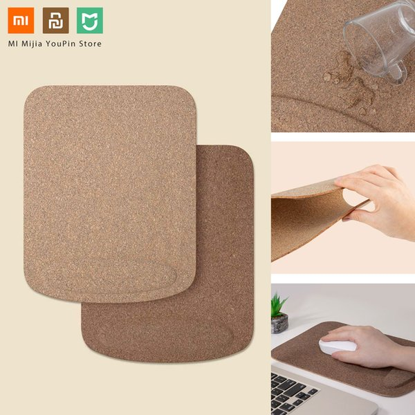 Xiaomi Youpin Mouse Pad Waterproof Skin Friendly Oak Coating Ergonomic Mouse Mat With Wrist Rest For Wired Wireless Gaming