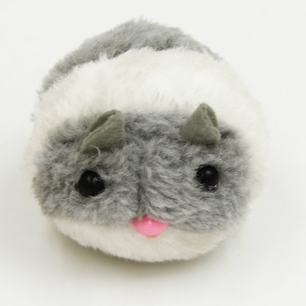 Plush Vibrating Cat Toy Simulation Chubby Mouse Resistant To Fall Elastic Non-electric Pet Toy Hot Sale