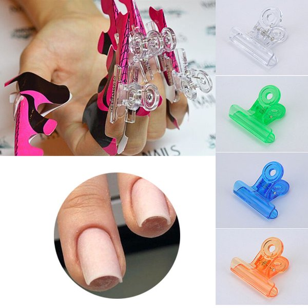 6pcs/set Rusian C Curve Nail Pinching Clips Multi Function Tool Acrylic Nails Pinchers