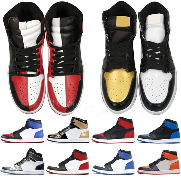 1s OG 1 top 3 mens basketball shoes Homage To Home Banned Bred Toe Chicago Game Royal Blue Shattered Backboard UNC Shadow men sport sneakers
