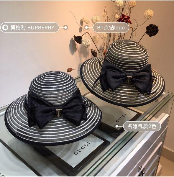 2019 son kadın sosyetik şapka, kelebek saten kumaş, nefes net, süper yüksek dereceli, tanrıça hava tarzı, eğlence şapka Yenilik Favori
