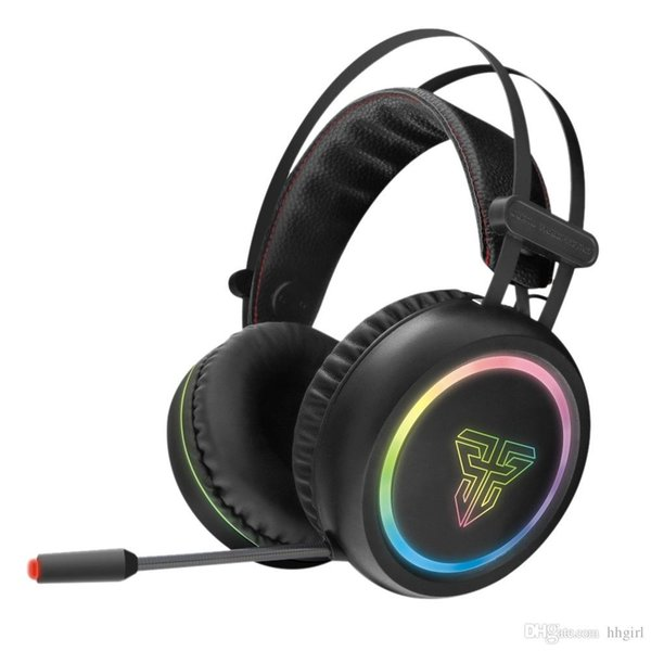 HG15 head-mounted gaming headset virtual 7.1 dual-channel surround sound noise reduction gaming headset RGB light with microphone headset