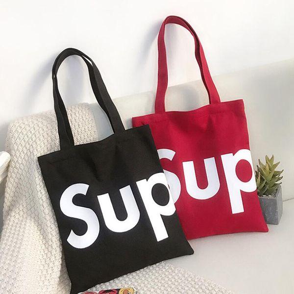 Moda Sup Canvas Bolsos Bolso Bandolera Versión coreana de arte japonés y coreano Sencillo bolso de estudiante DHL gratis