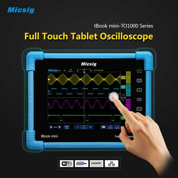 2019 Digital Oscilloscope 100 MHz 4 Channel Portable Electronic Diagnostic  Tool Automotive Digital Car Detector Kit DIY Usb PC Scope From Meitan,