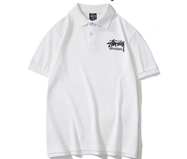 G21bh Nouveau Style Italie Marque Polo Shirt Stusay T Chemises Hommes Casual Polos De Mode Strip Strip Coton Imprimé Polos