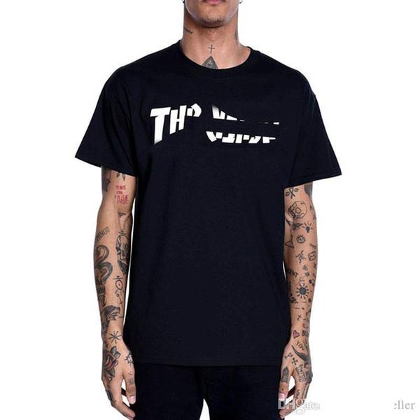 Brand T-Shirt Mens конструктора Тенниски пламя печать логотипа майка хлопок рыхлый европейская рок-моды с короткими рукавами женские роскошные тройники