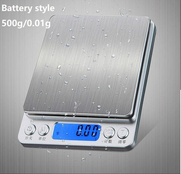 500g / 0.01g batería