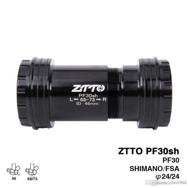 ZTTO PF30sh PF30 24 Adapter MTB bicycle Press Fit Bearing Bottom BracketsAxle for MTB road bike Parts Prowheel 24mm Crankset