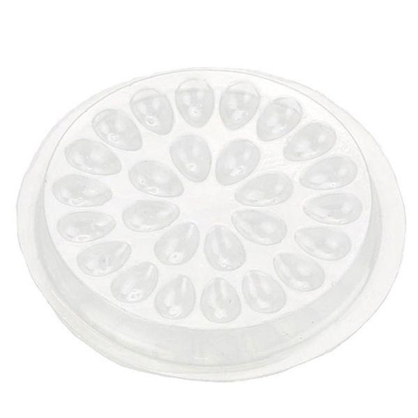 YENI-Tutkal Conta Kirpik Tutkal Tutucu Yapıştırıcı Palet Kirpik Uzatma Tutkal Pedleri Plastik Tutucu Üzerinde Standı