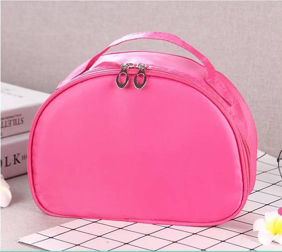 Nueva bolsa de cosméticos portátil de gran capacidad bolsa de almacenamiento para estudiantes linda funda de cosméticos bolsa de lavado moda coreana caja de almacenamiento impermeable