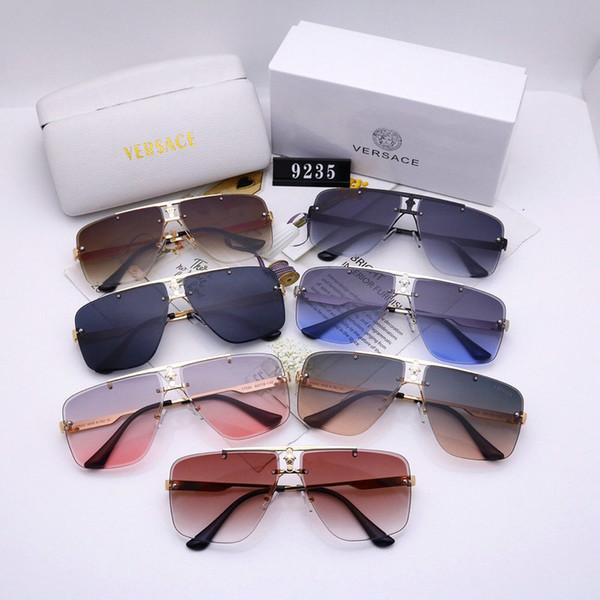 2019 новые моды дизайнер солнцезащитных очков для мужчин и женщины вождения очки стильной и простой в использовании магазина упаковке бесплатной почты