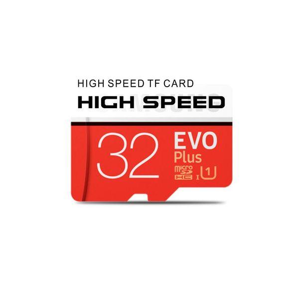 A + + + Samsung EVO Gerçek 32 GB / 64 GB / 128 GB EVO Artı micro sd kart Class10 smartphone TF kart Tablet PC SDXC Depolama kartı Paketi ile 95 MB / S