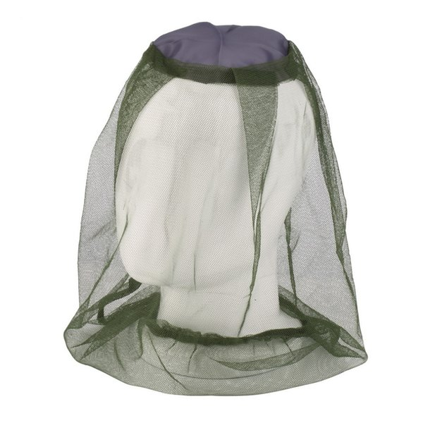 Mosquito Mask Mosquito Head Net Face & Neck Protection - Outdoor Net Camping Hat