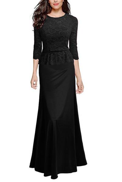 2019 européenne et américaine saison des diplômés en dentelle couture confortable couture couture robe de soirée d'obtention du diplôme adulte cérémonie