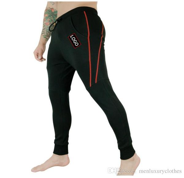 Mens Fitness Athletic Basculador Calças GINÁSIO Muscular Calças de Treinamento Muscular Longo Casual Elástico na Cintura Calças