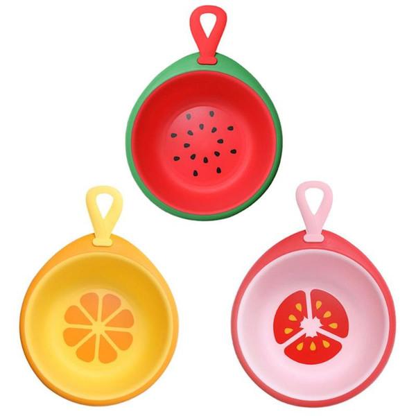 Мультяшный креатив фруктовый детский умывальник детский умывальник малый маленький утолщенный маленький пластик