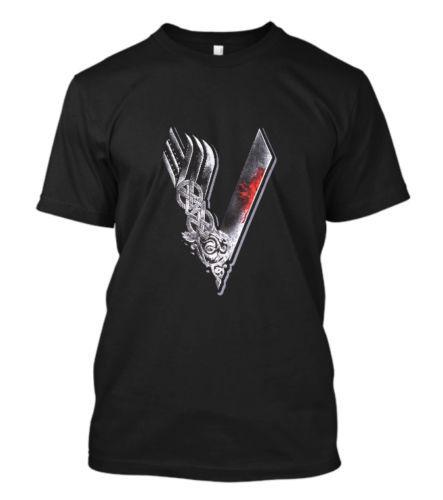 New Vikings Logo Celtic Walhalla TV Serie Yggdrasil Thor Viking T-Shirt S-5XL Cool Tops Men'S Short,2018 Newest Men'S ,Funny Top Tee
