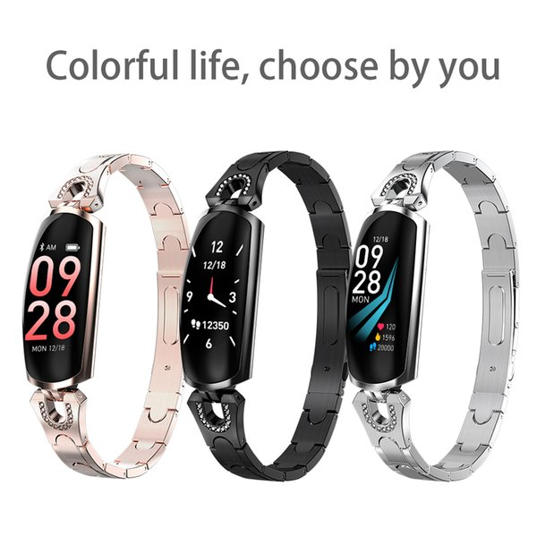 0.96-inch Smart Fitness Bracelet sports watch Waterproof Heart Rate Monitor Watch For Android Phone for man Women Wristband