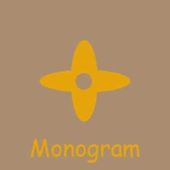 Monog 램 베이지의 내부