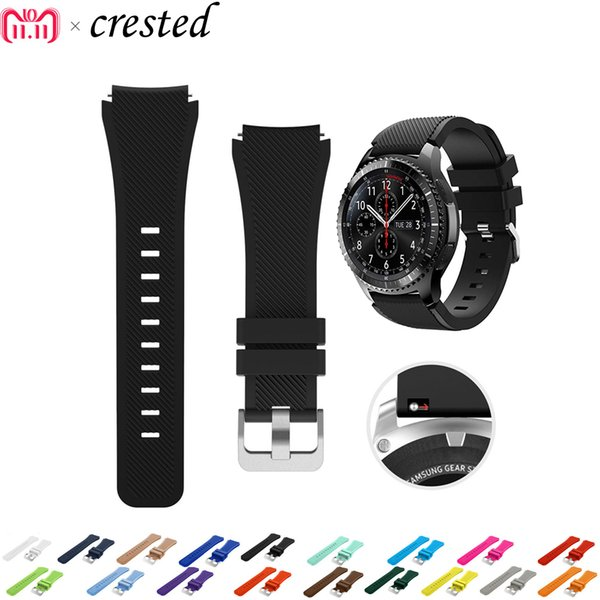 Sport Strap for samsung Galaxy Watch 46mm gear s3 Frontier/Classic band smart watch silicone bracelet replacement wrist belt