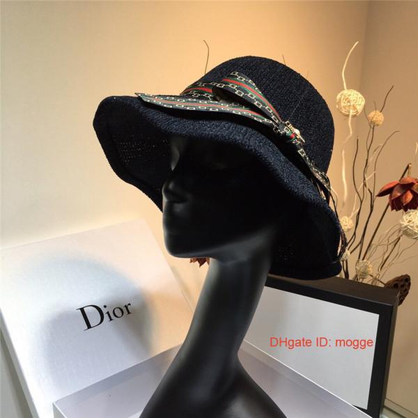 Sıcak Sonbahar Şapka Kapaklar Kadınlar için Eğlence Fedora Şapkalar ile İngiliz bayanlar Geniş Ağız şapka Caz Kap feansh7