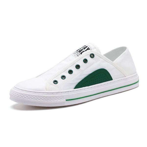 Cómoda Lace Up 2019 nuevo de la manera Tipo blanca zapatos de los hombres de moda casual zapatilla de deporte de la manera de los zapatos cómodos para caminar al aire libre