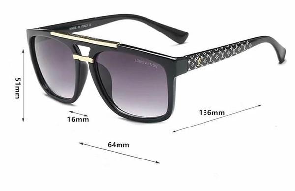 New Fashion 9013 European and American polygonal men sunglasses driving glassesmens womens brand designer sunglass free shipping