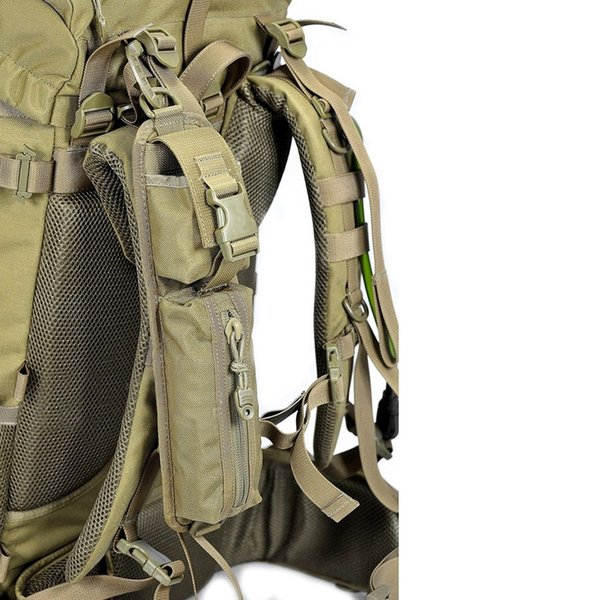 Tactical Shoulder Strap Sundries Bags for Backpack Accessory Pack Key Flashlight Pouch Molle Outdoor Camping EDC Kits Tools Bag #108478