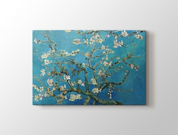 Tablo Kanvas Table Canvas Vincent van Gogh - Blossoming Almond Tree Table Ship from Turkey HB-003373818