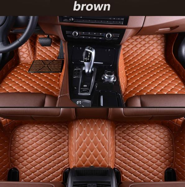 Lexus ES 2006-2018 tapis de voiture de luxe entouré de cuir imperméable à l'eau usure tapis de voiture livraison gratuite