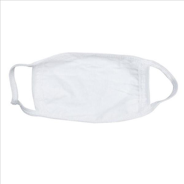 O algodão branco mistura a máscara da boca da cara de Earloop, máscara da cara das máscaras de cara da boca do algodão da Anti-poeira para homens e mulheres, filtro de poeira sanitário