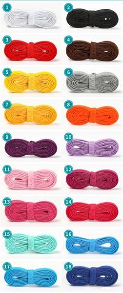 top popular Flat canvas shoe laces, sneaker laces, basketball shoe laces, solid color laces 2021