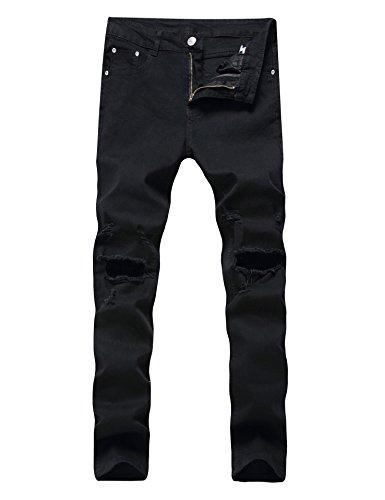 Enrica Herren Röhrenjeans Slim Fit Denim Pants
