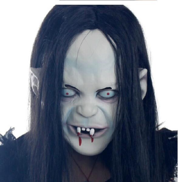 FAROOT Halloween Masquerade партии Маски Cospaly Horror Prajna Дух Ужас маска Эмульсия маски Halloween