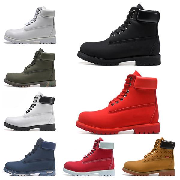 2019 designer luxury men women boots winter boots womens military triple white black camo size 36-45 thumbnail