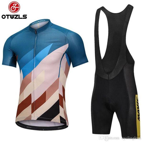 Mavic 2018 mens ciclismo jersey conjuntos de manga curta de verão mtb ciclismo clothing pro equipe da bicicleta da bicicleta clothing homens maillot ciclismo hombre