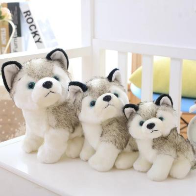 top popular Husky Dog Plush Toys Small Stuffed Animals Doll Toys Gift Children Christmas Gift Stuffed Animals Plush Dolls kids Toys EEA551 2020