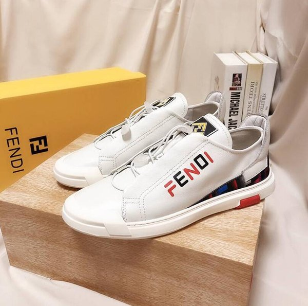 2020 High Quality Classic Luxury Leather Casual Shoes XXLFENDI New DG Brands Men Leather Shoes CL Fashion Outdoor Sneakers GH1211 71 Best Lace Wig