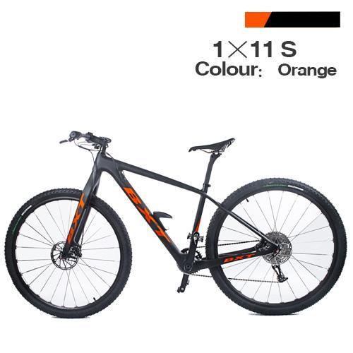 orange bike M