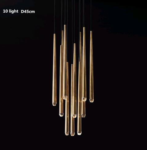 10 ışık yuvarlak ışık D45CM