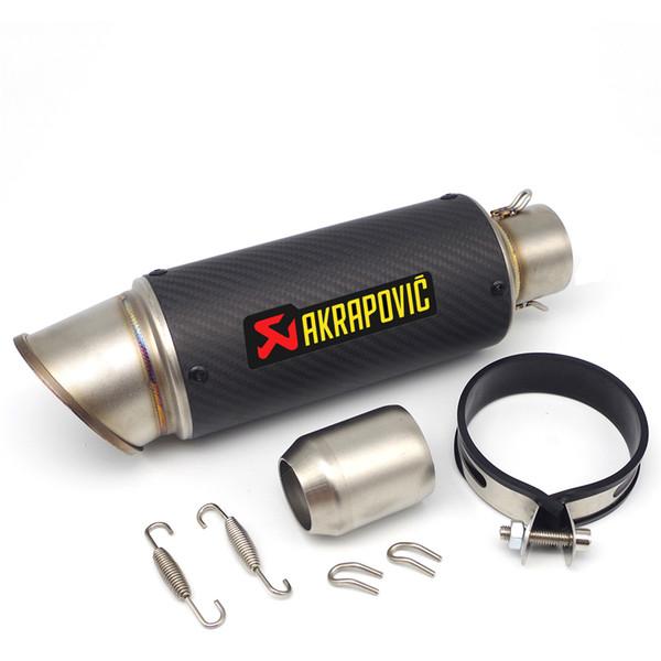 Akrapovic tubo de escape da motocicleta silenciador DB killer para forza s1000rr yamaha mt10 aprilia sxv 450 z900 targa