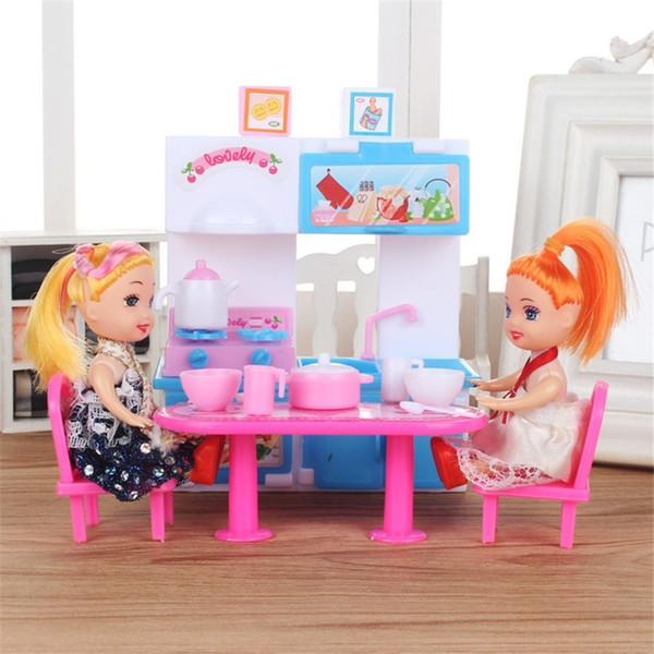 Großhandel KÜCHE SET Baby Born Puppe Puppenhaus Zubehör Spielzeug Augen Für  Kinder Iplehouse Puppen Lol Fashion Anniversaire Enfant Von Diandoll, ...