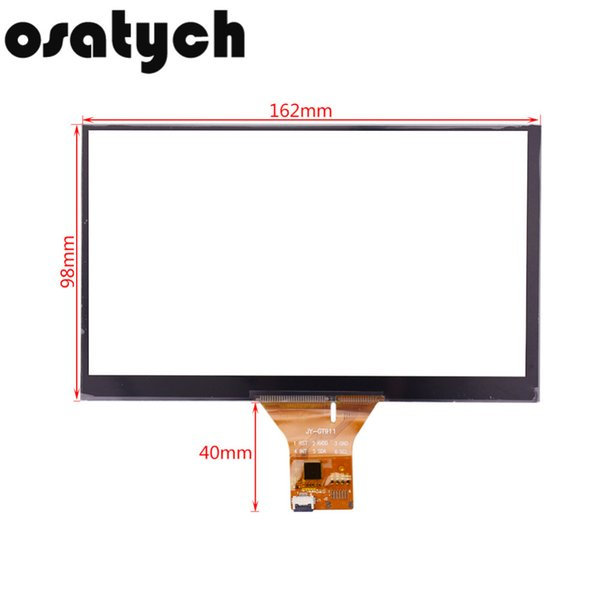NEW 7inch 163*98mm Digitizer Glass Monitor Industrial Capacitive Touch Screen Replacement