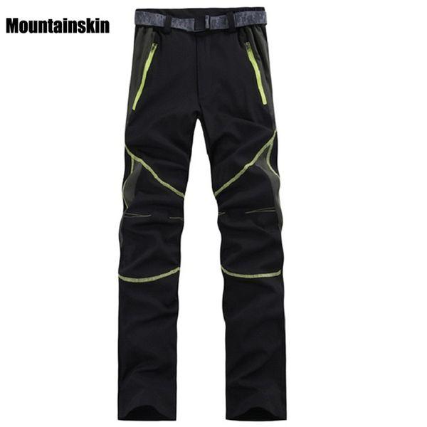 Mountainskin Men's Summer Quick Dry Hiking Thin Pants Outdoor Sports Pants Camping Trekking Climbing Fishing Male Trousers VA006