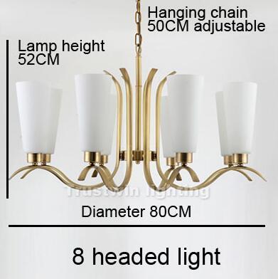 8 led di luce