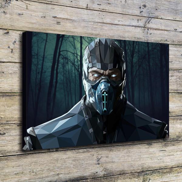 Mortal Kombat,Home Decor HD Printed Modern Art Painting on Canvas (Unframed/Framed)