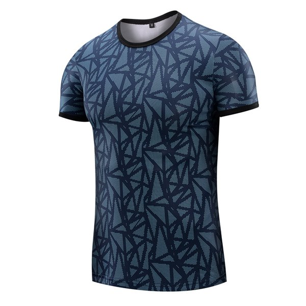 Men'S Short Sleeve T-Shirt Male New Fashion Slim O-Neck Summer Shirts Tops Men Quick Dry Tee Casual Clothes