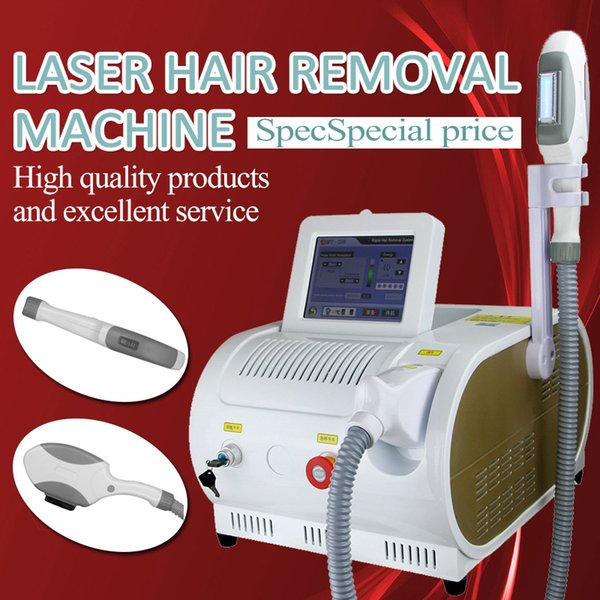 5 filteres elight Permanent Hair Removal Machine SHR OPT IPL Laser RF Skin Care Rejuvenation Acne Treatment Beauty Spa Equipment